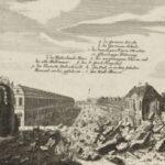 Nach der Explosion des Pulverturms im Jahr 1720. (Banner)