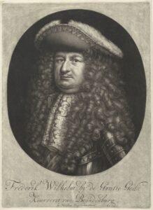 Porträt Friedrich Wilhelms I. von Preußen um 1720.