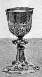 Kelch aus dem Geschenk Friedrichs II. 1740.