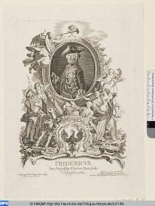 Porträt Friedrichs II. von Antoine Pesne um 1750.