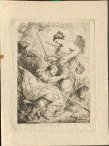 Allegorie auf Generalfeldmarschall Kurt Christoph Graf von Schwerin von Christian Bernhard Rode.