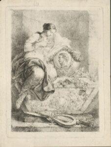 Allegorie auf Major Ewald Christian von Kleist von Christian Bernhard Rode.