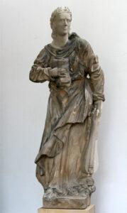 Standbild der Anna Louisa Karsch von J. C. Stubinitzki, 1873/84.