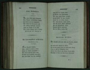 """Gedicht der Anna Louisa Karsch an Friedrich II. - """"An Quitungsstatt geschrieben. Im Jänner 1783"""""""