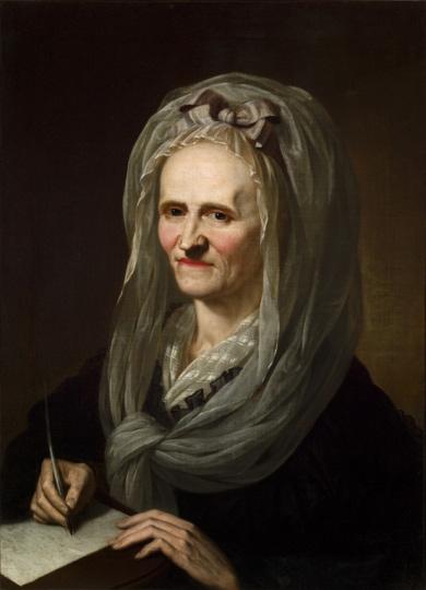 Porträt der Anna Louisa Karsch von Karl Christian Kehrer, 1791.