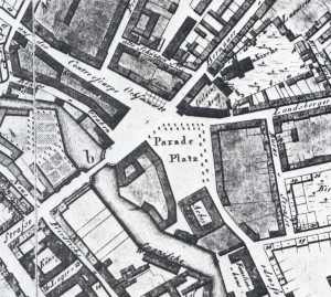 3. Karte des Alexanderplatzes im Jahr 1804
