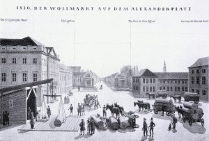 5. Der Alexanderplatz im Jahr 1830