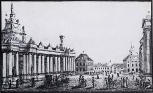1. Der Alexanderplatz um 1784