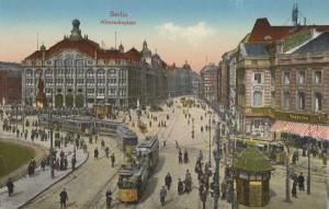 9. Der Alexanderplatz um 1905