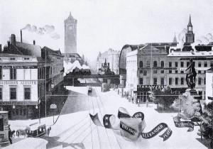 10. Der Alexanderplatz um 1900
