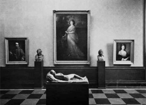 Blick in die Ausstellung der Nationalgalerie im Jahr 1960
