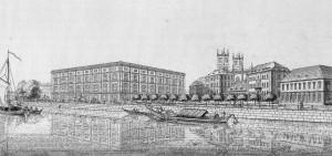 Die (geplante) Bauakademie von Karl Friedrich Schinkel (1831)
