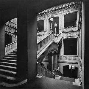 Blick ins umgebaute Treppenhaus der Bauakademie (1911)