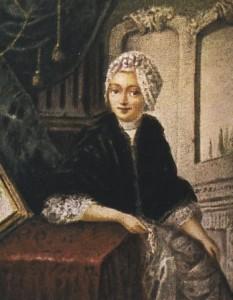 Porträt Fromet Mendelssohns, geb. Gugenheim.