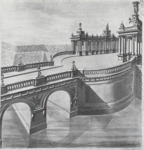 2. Königsbrücke und Königskolonnaden nach der Erbauung
