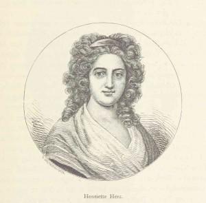 Henriette Herz - Zeichnung