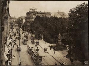 Leipziger Straße mit Dönhoffplatz, 1907