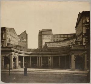 Leipziger Straße, nördliche Spittelkolonnade, 1890