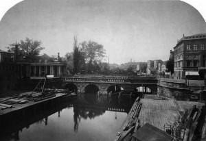 9. Die Königsbrücke um Jahr 1872