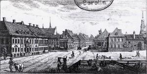 5. Der Alexanderplatz um 1796
