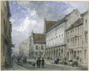 Spandauer Straße mit Gerichtslaube