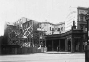Spittelkolonnaden, Südseite, Berlin, Leipziger Straße, um 1930